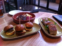 Mini burgers, Pork belly, Lamb Koftas - Melbourne Public Bar