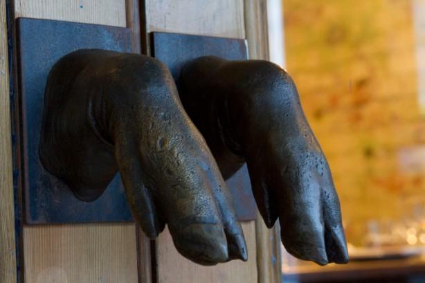 Josie Bones door handles