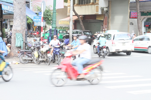 Traffic in Ho Chi Minh