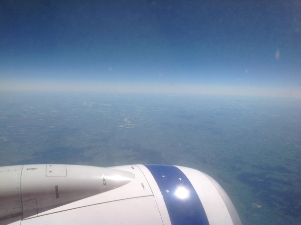 Melbourne to Sydney from sky high