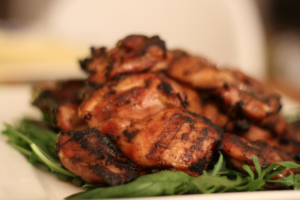 BBQ Chicken thigh fillets