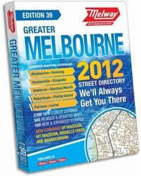 Melways - Melbourne street directory