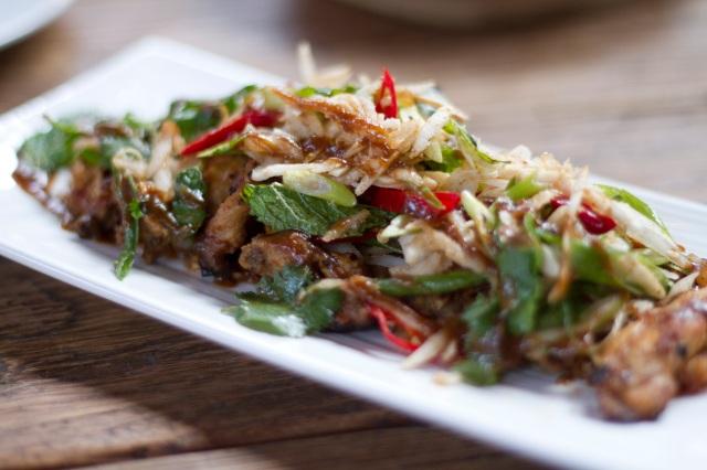 Chicken ribs Thai style